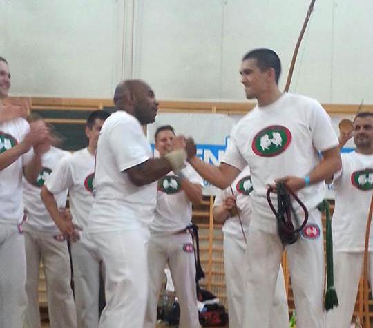 Instrutor Latino és Mestre Paçoca