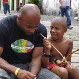 Mestre Paçoca Brazíliában