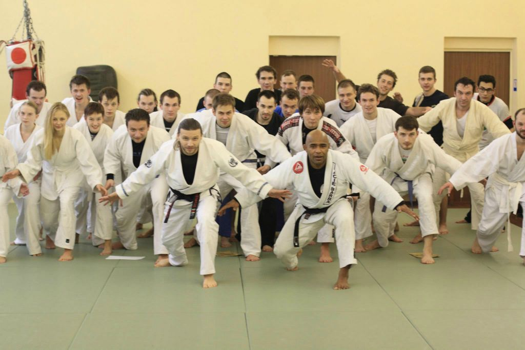 Mestre Paçoca egyben brazil jiu-titsu mester is