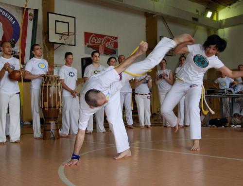 Interjú Zsuzsával a komárnói capoeira verseny után