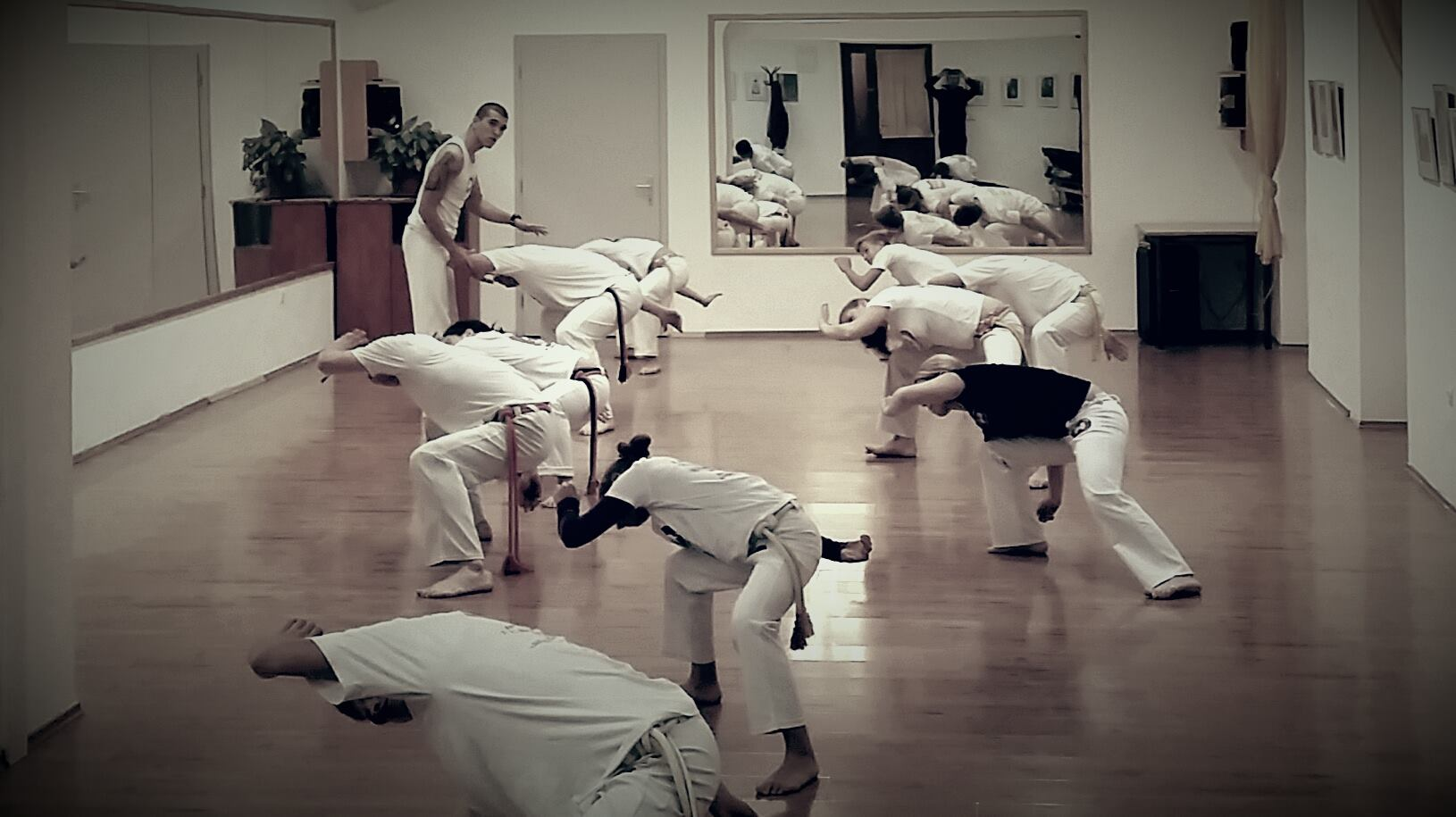 Capoeira edzés